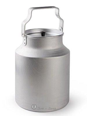 Бидон алюминиевый 10л с крышкой