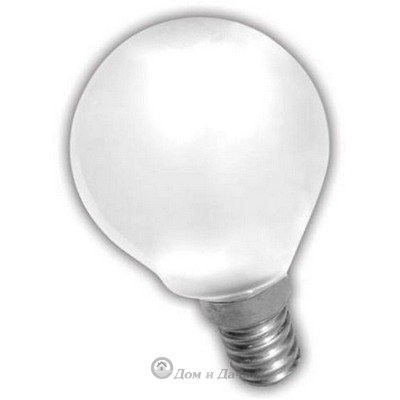 Лампа накаливания. ШАР мт 40Вт E14 Космос