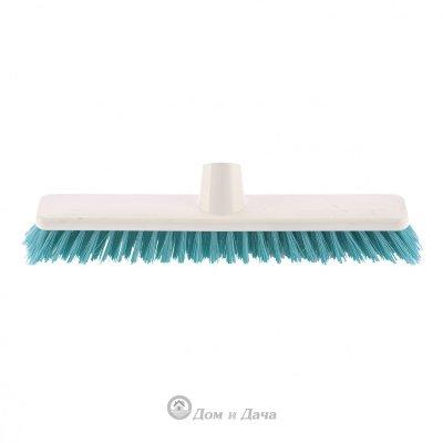 """Щетка пластмассовая """"Shrober"""" для чистки ковров 270 мм, бирюзовая щетина Elfe"""