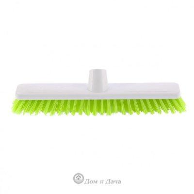 """Щетка пластмассовая """"Shrober""""для чистки ковров 270 мм, салатовая щетина Elfe"""