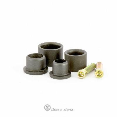 Насадки с тефлоновым покрытием к аппарату для сварки полипропиленовых труб, D: 20 мм, 25 мм Kronwerk