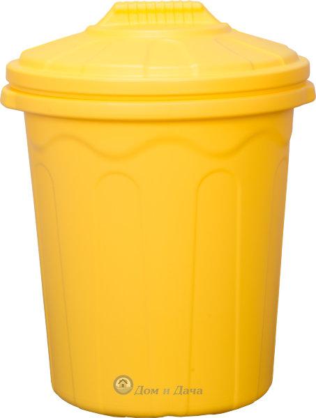 Бак хозяйственный 80л ББХ-80 Желтый