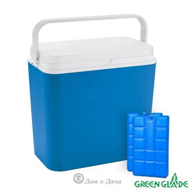 Термоконтейнер Green Glade 3702 24л с аккумуляторами холода
