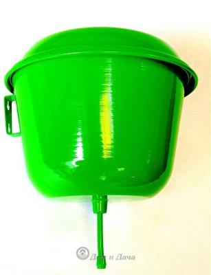 Рукомойник 4,5 л алюминиевый зеленый