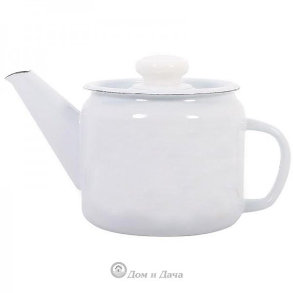 Чайник заварной 1,0л без рис. С-2707П2/Рч
