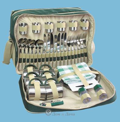 Набор для пикника Green Glade 3653, 47 предметов.