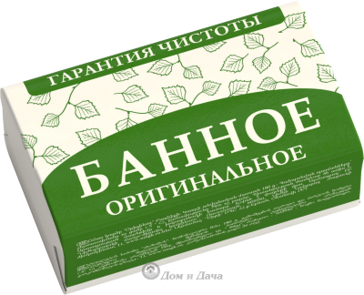 Мыло оригинальное Банное, 180 г, НМЖК Россия