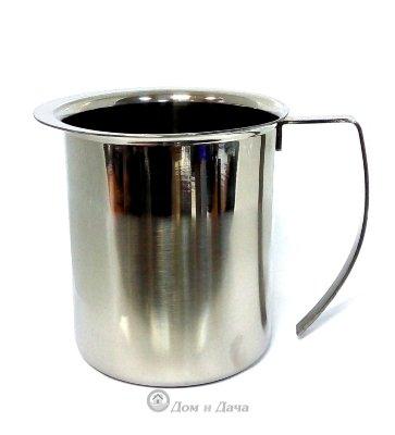Кувшин для молока 1л из нержавеющей стали