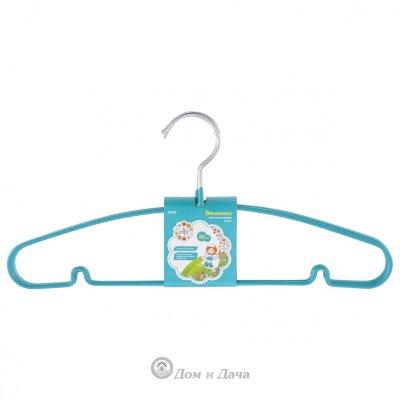 Вешалка для легкой одежды с прорезиненным противоскользящим покрытием 40 см, 5 шт, в комплекте Elfe