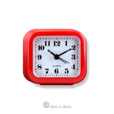 """Часы-будильник MAX-3011-1 """"Экстра красный"""""""