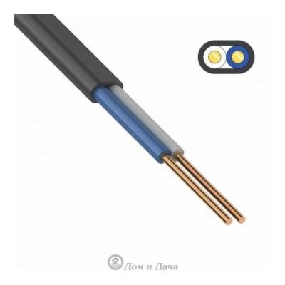Кабель ВВГ-П нг(А)-LS 2х1.5 (N), 100м, ГОСТ