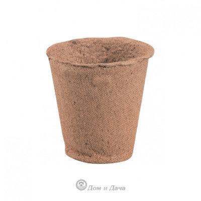 Горшочек для рассады 60 х 60 мм, торфяной, 10 шт. Россия