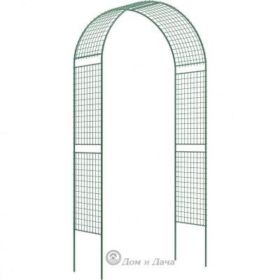 Арка садовая разборная «Сетка широкая» 2,5 х 0,5 х 1,2 м Россия