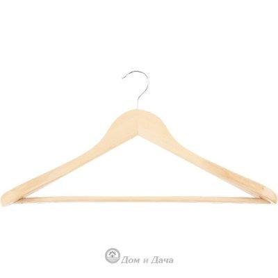 Вешалка деревянная для верхней одежды с антискользящей перекладиной Elfe