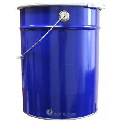 Ведро металлическое 20 л крышка-обруч синее