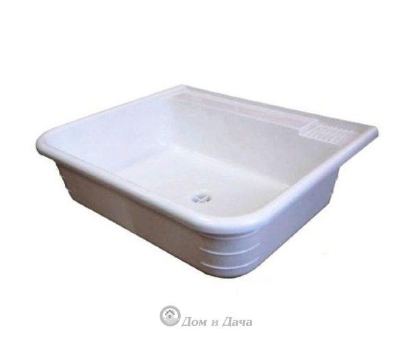 Раковина-мойка пластмассовая 42х36 см (для умывальников)