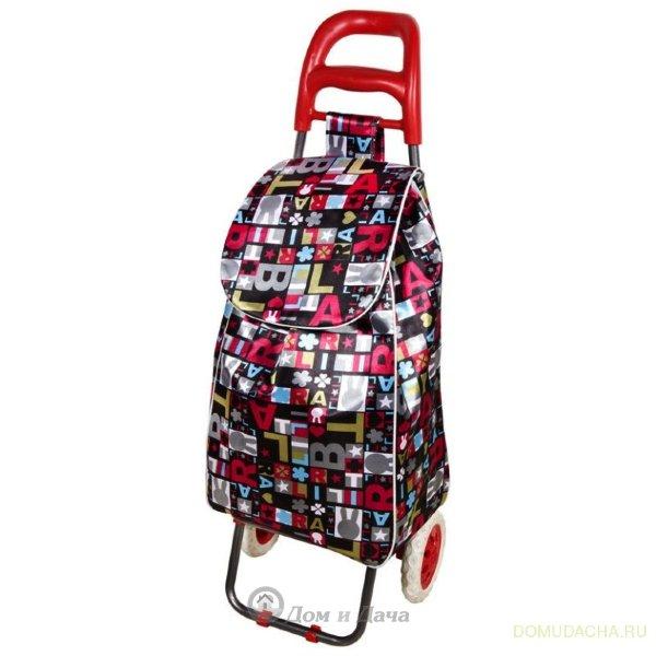 """Тележка с сумкой """"Париж"""", 30 кг, A204"""