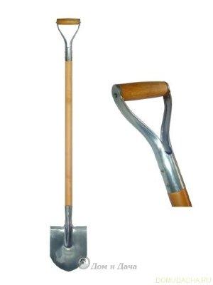 Лопата V-образ/дерев/ручка НЕРЖАВЕЙКА ШТЫКОВАЯ
