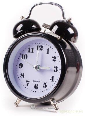 """Часы будильник """"Блэк классик"""" MAX-2832-1"""