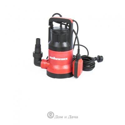 Дренажный насос KP300, 300 Вт, подъем 6 м, 7000 л/ч Kronwerk