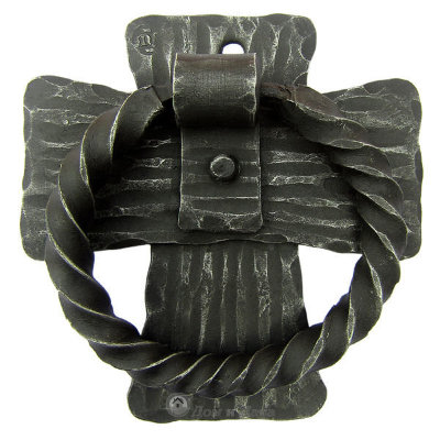 Дверная стучалка кованая  «Крест» MS-38