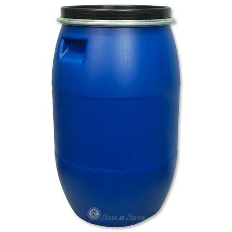 Бочка пластиковая 127 л (евробарабан)