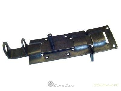 Задвижка калиточная 120мм ЗД-2 (Метиз) оксидирован