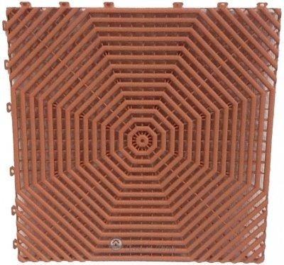 Плитка для пола HELEX терракотовая