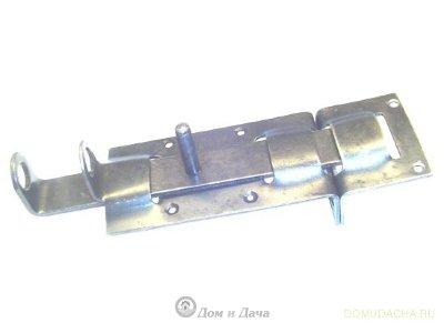 Задвижка калиточная 120мм ЗД-2 (Метиз) цинк