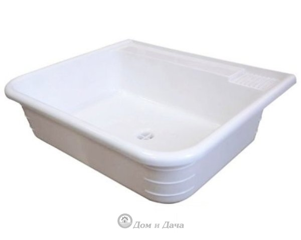 Раковина-мойка пластмассовая 50х41 см (для умывальников)