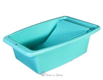 Таз со стиральной доской на ванну