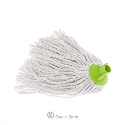 Сменная насадка из хлопка, 200 г, зеленая для швабры 93520,93522 Elfe