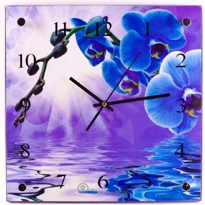 """Часы настенные MAXTRONIC """"Орхидея"""""""