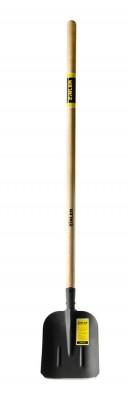 Лопата совковая песочная с деревянным черенком 1200 мм тип 2, ZINLER