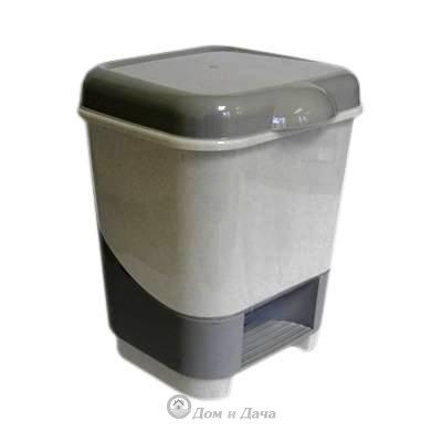 Контейнер педальный для мусора 8л.