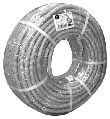 Гофротруба D 32 с зондом (25 м)
