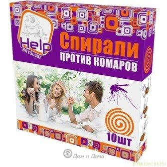Спирали от комаров HELP 10 шт