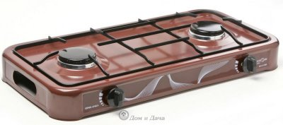Газовая плита MAXTRONIC MAX-FJ-002SB коричневая