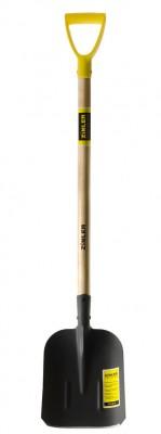 Лопата совковая песочная с деревянным черенком 960 мм тип 2, ZINLER