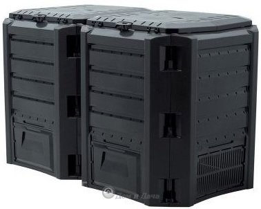 Компостер Module 800 л чёрный