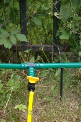Летний водопровод для приусадебных хозяйств длиной 30 метров