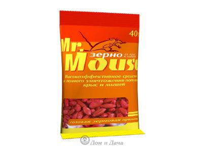 Mr. Mouse - зерно от грызунов,40гр.